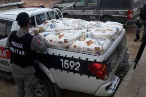 Operação conjunta apreende mais de duas toneladas de explosivos na Paraíba